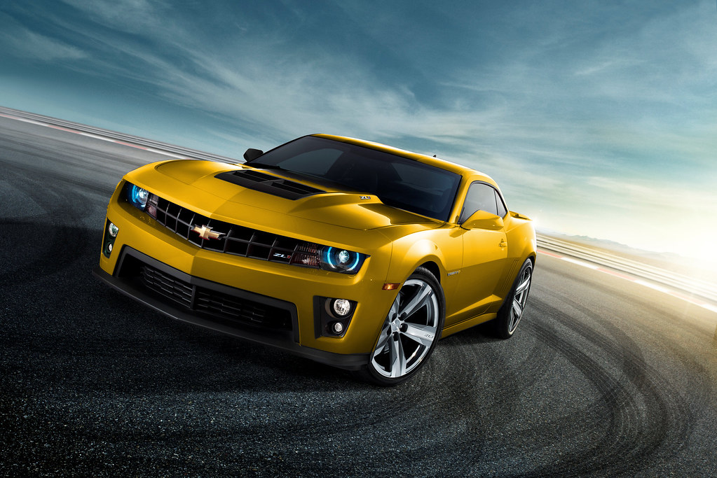 2012 Camaro Zl1 Yellow Original Was Red But I Wanted To