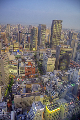A view of Osaka city from Umeda | by yorkshire stacked