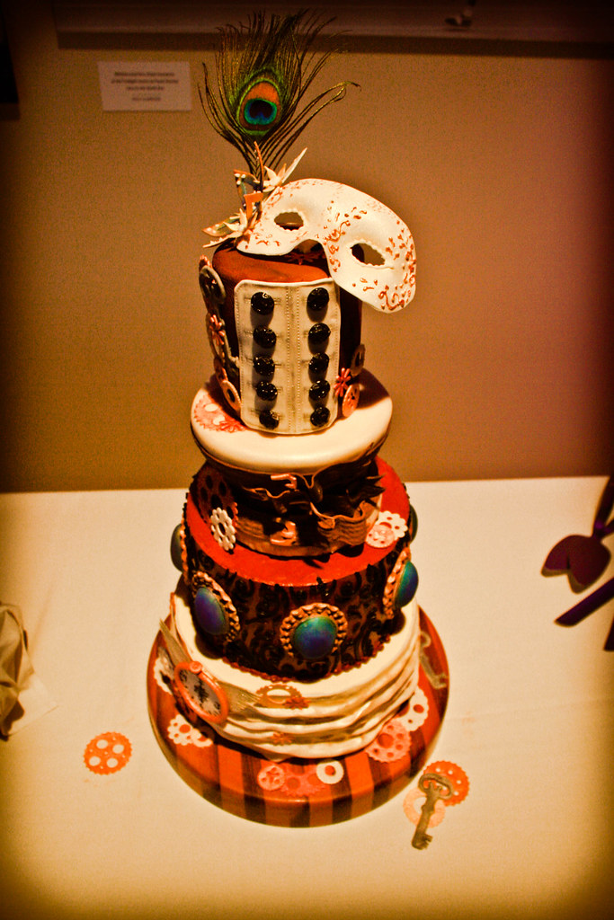 Steampunk Wedding Cake Tracey Gill Miller Flickr