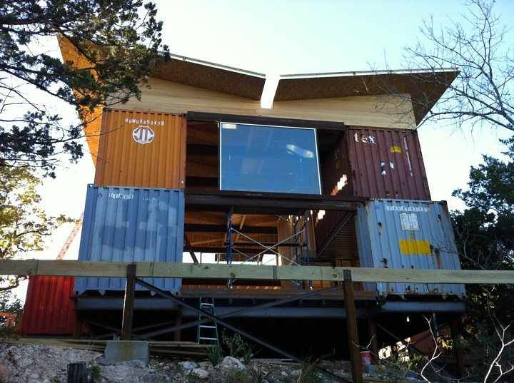 Container home boerne texas talked to jennifer bohannon f flickr - Container homes texas ...