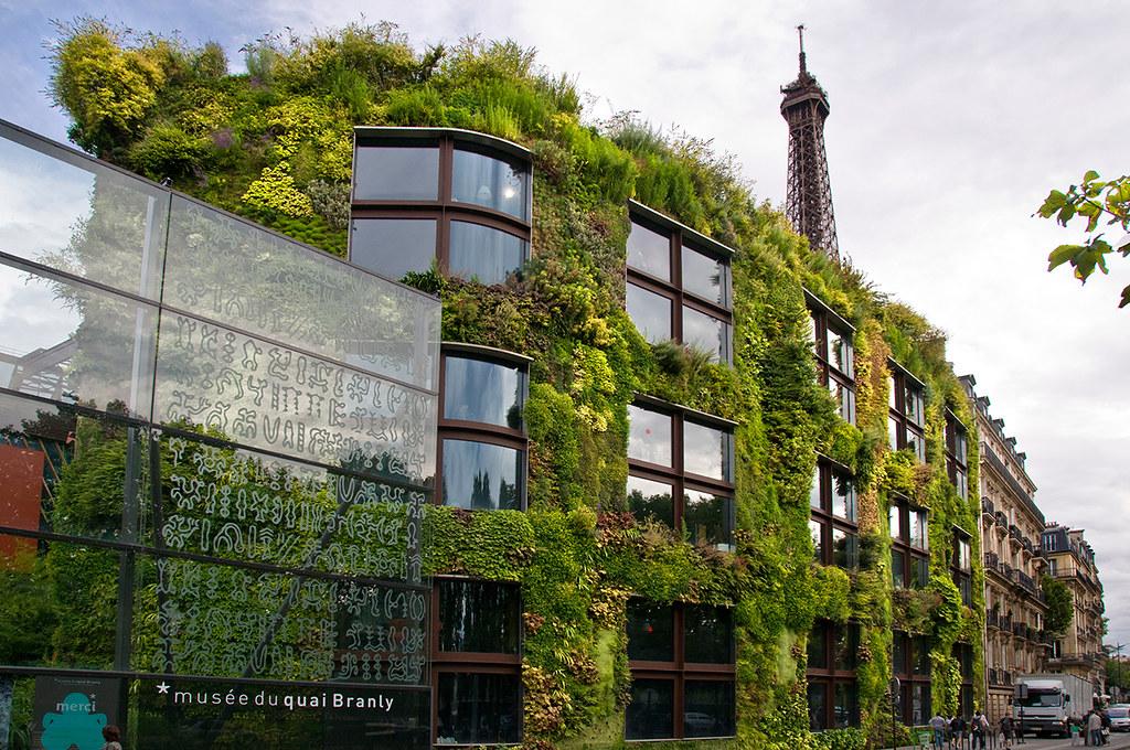 the living wall le mur vegetal mus e du quai banley flickr. Black Bedroom Furniture Sets. Home Design Ideas