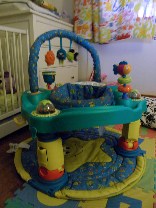 Evenflo Exersaucer Ultra 2 In 1 Bought Preloved From A Fe Flickr