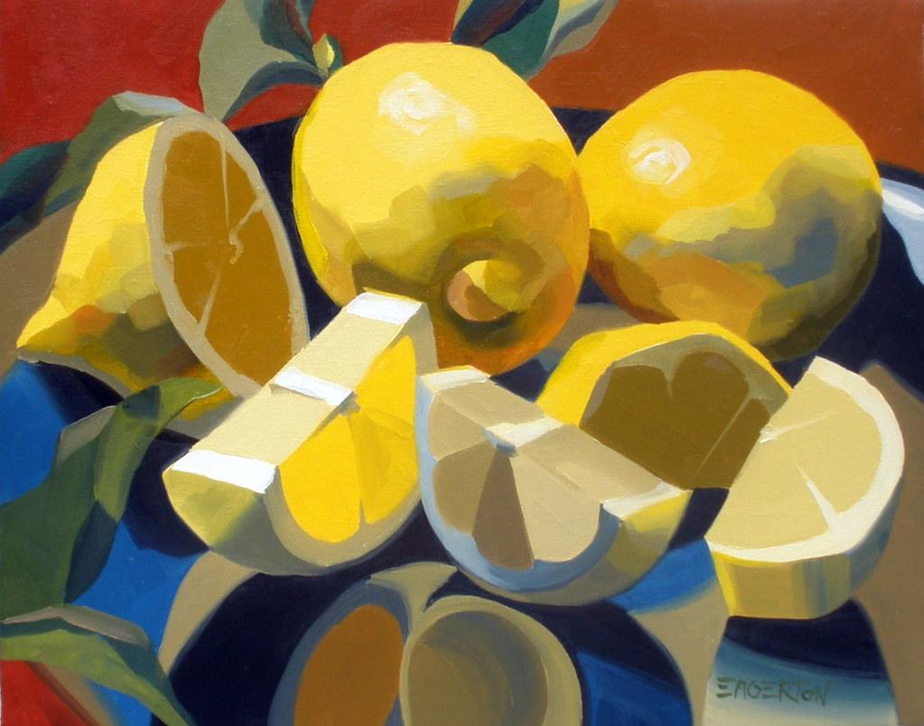 Lemon Kitchen Paint