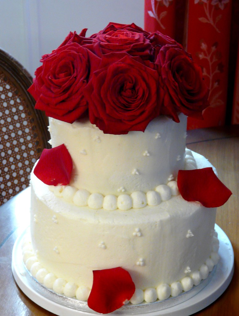 Square  Tier Wedding Cakes