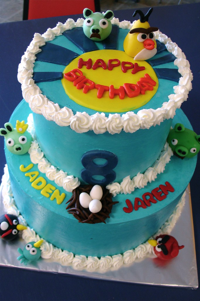 Character Cake For An 8 Year Old Boys Birthday Fondant C Flickr