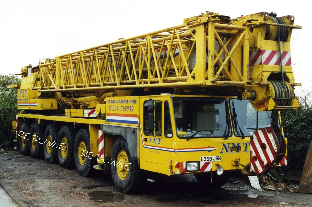 Mobile Crane Terminology : Nmt demag ac l xhp axle ton mobile crane