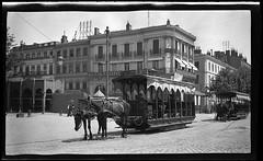 Tramways hippomobile, allées Jean-Jaurès by museumdetoulouse
