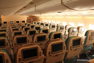Singapore Airlines A380 Economy Class | by AirlineReporter.com