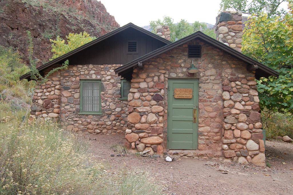 Grand Canyon Phantom Ranch Shower House 0229 Phantom