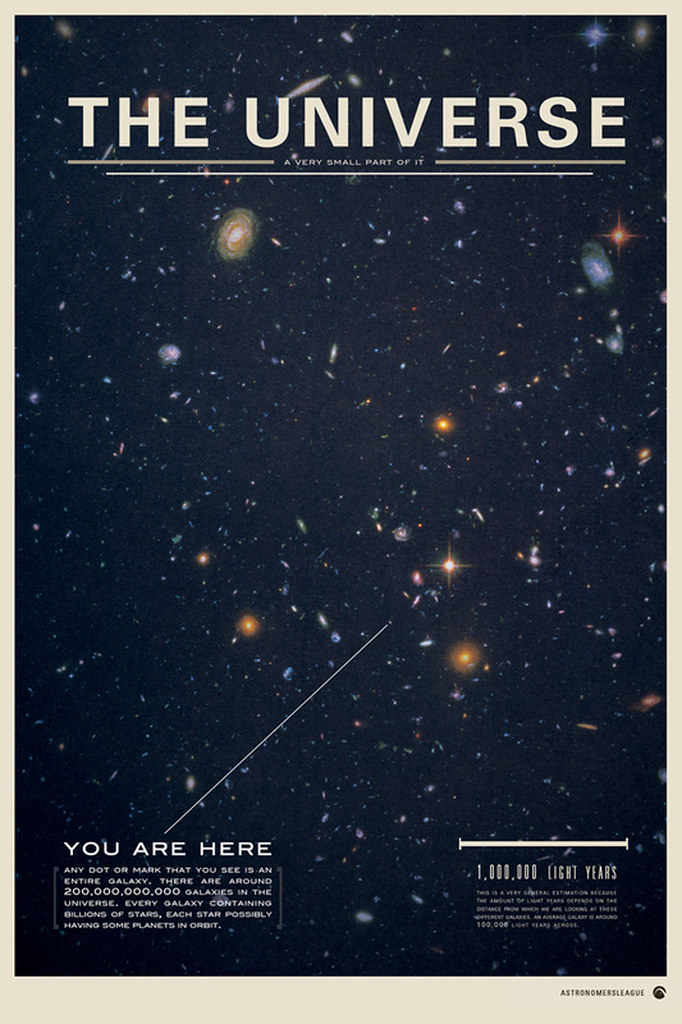 The universe space poster design inspiration print for Space poster design