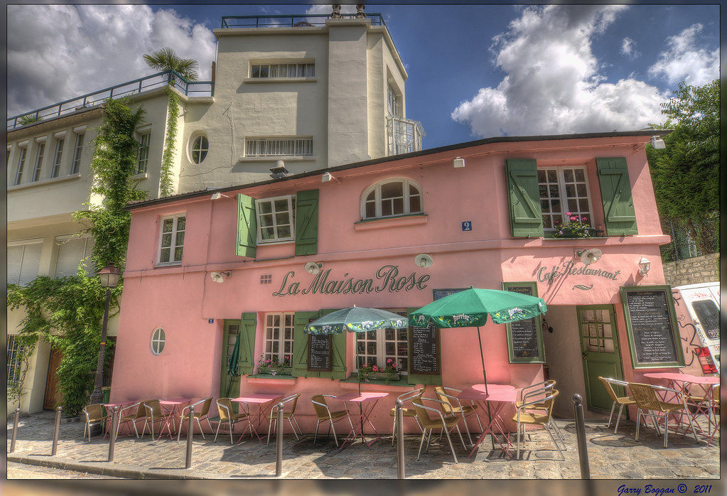 La maison rose montmartre the quintessential montmartre for La maison rose lourmarin