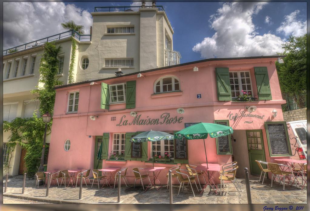 La maison rose montmartre the quintessential montmartre for Rosy dans 7 a la maison