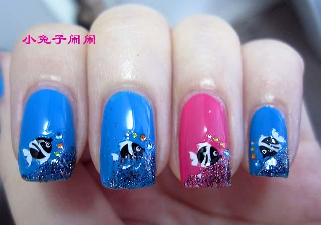 nail art : fish | Conciry Zhang | Flickr