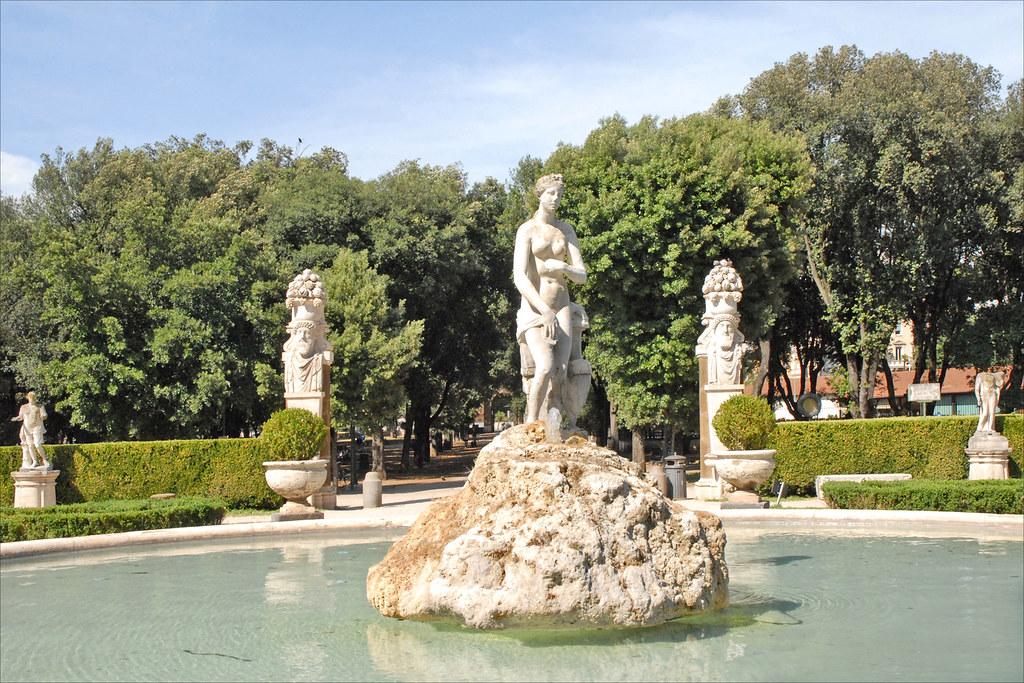 Jardin de la villa borgh se rome jardin de la villa for Jardin villa medicis rome