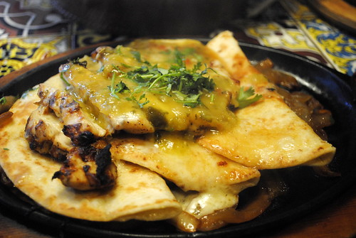 SANTA FE SIZZLING SKILLET | Cheese quesadillas, fajita ...