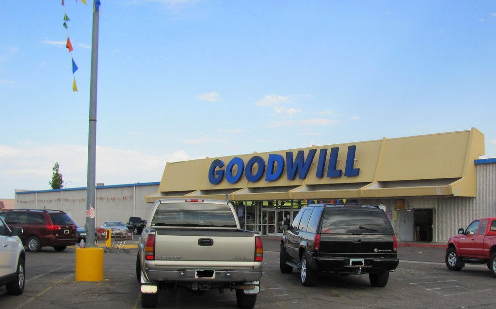 Goodwill (former Kmart) | One guess as to what it was ... Goodwill