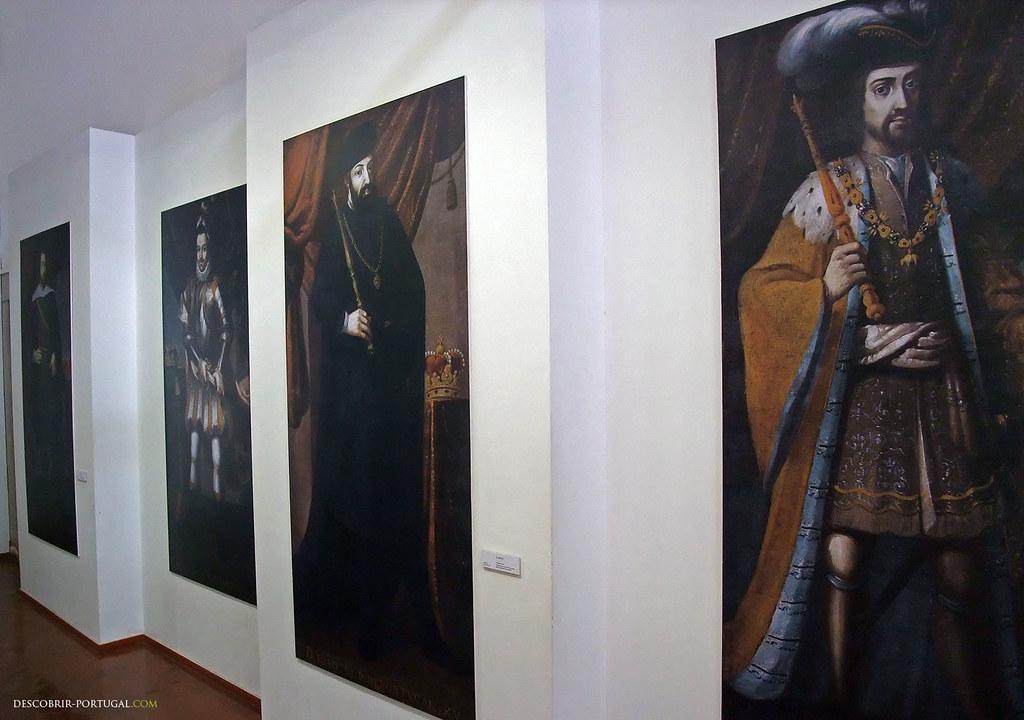 Portraits des souverains portugais