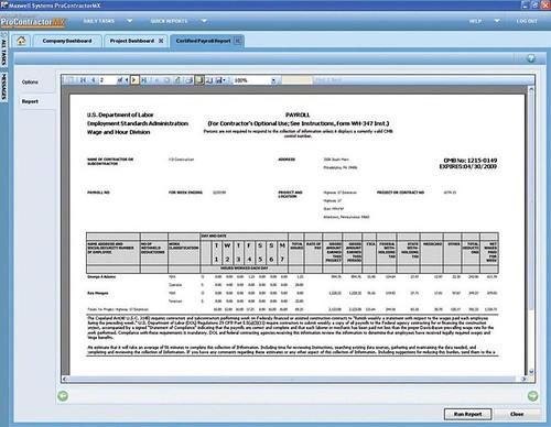 Procontractormx Employee Management Construction Payro