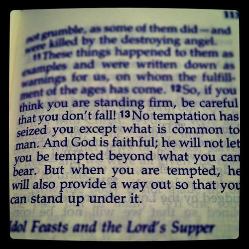 Corinthians Niv 1 13 1 Corinthians 10:13 Niv