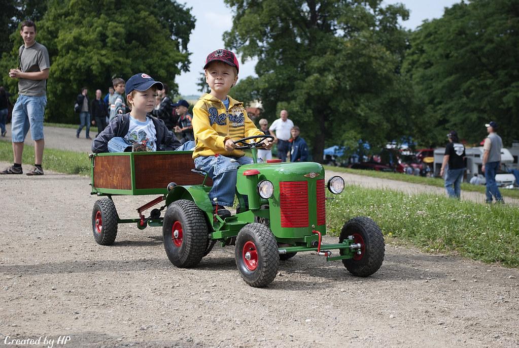 World S Smallest Tractor : Small tractor driver malý traktorista pavel langer