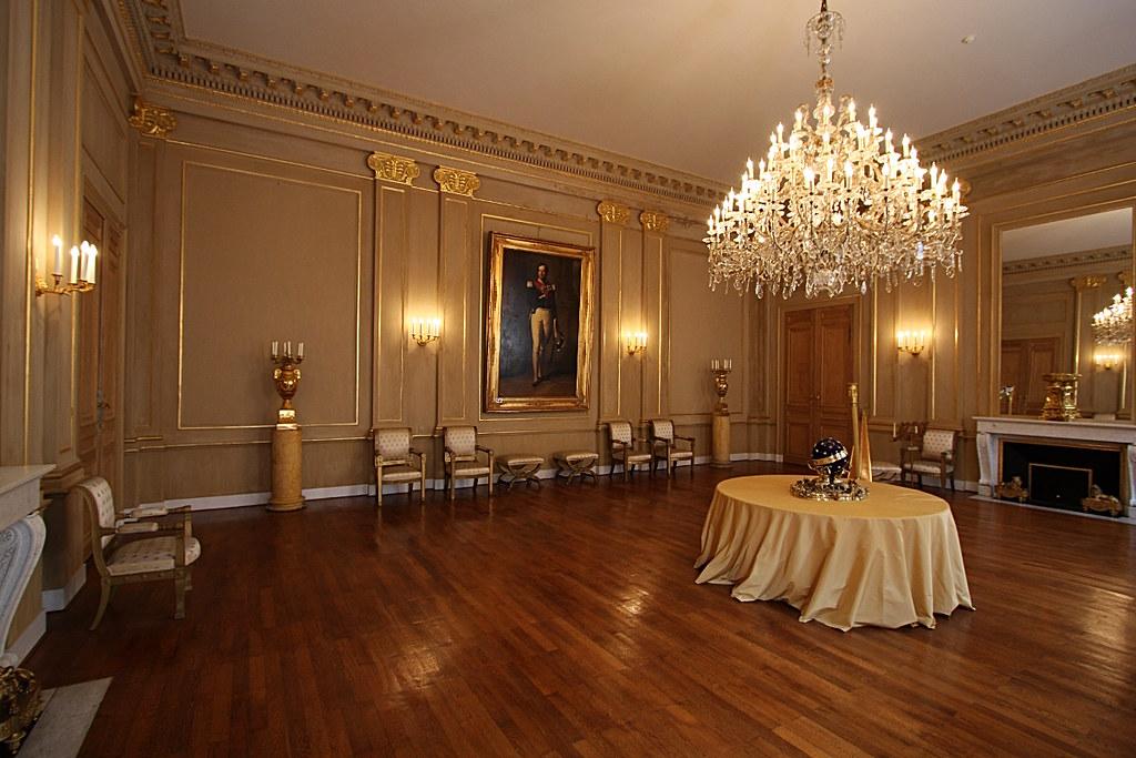 Palais royal de bruxelles int rieur olivier monbaillu flickr - Salon de the palais royal ...