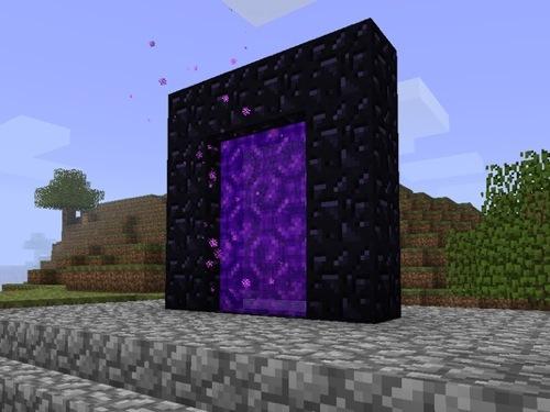 Portal Aus Obsidian In Minecraft Weiter Fotos Und Infos Zu Flickr