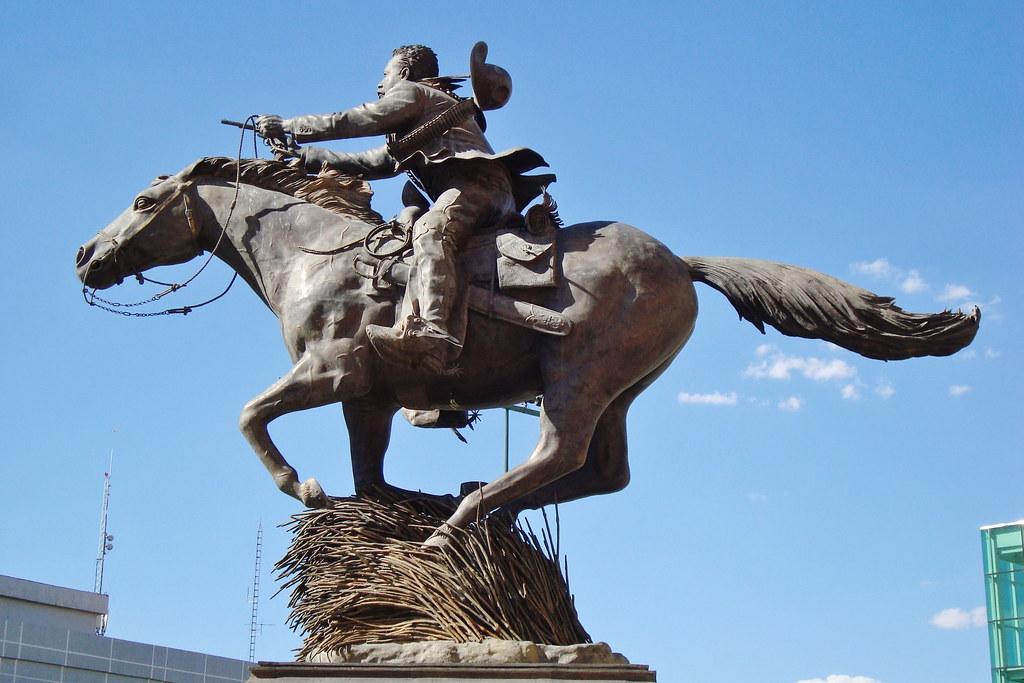 Statue Of Pancho Villa