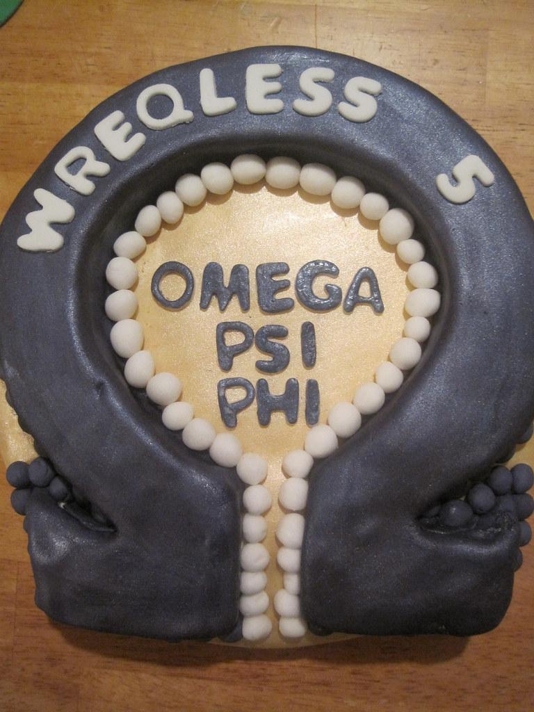 Omega Psi Phi Cake Jordycakessweets Flickr