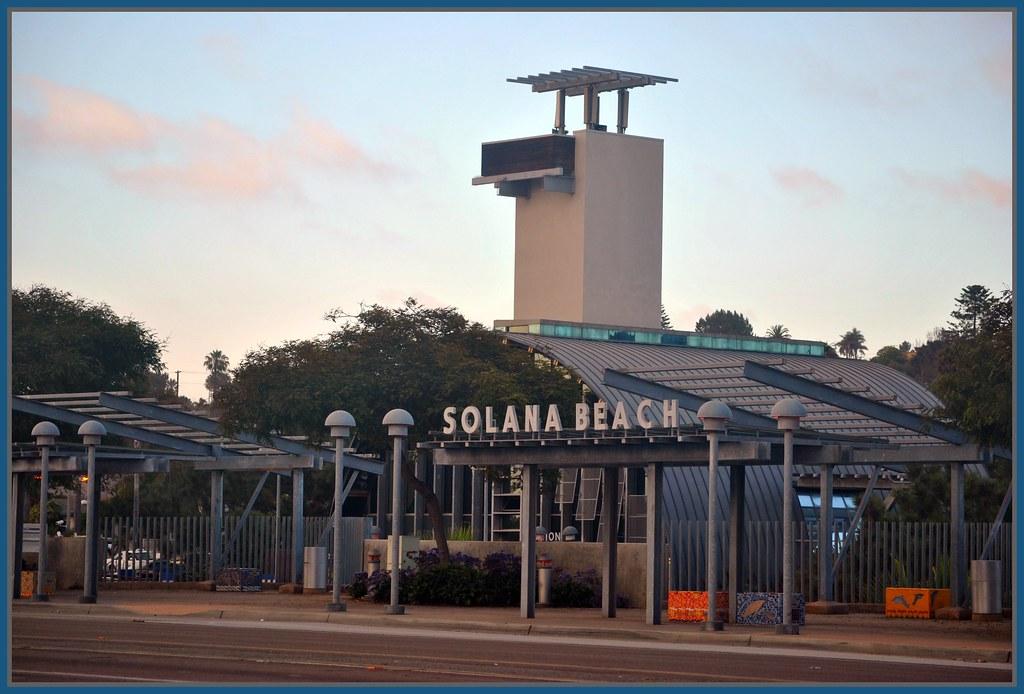 Train Station In Solana Beach Ca