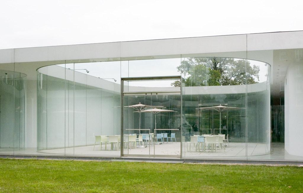 glass pavilion interior courtyard michael dant flickr. Black Bedroom Furniture Sets. Home Design Ideas