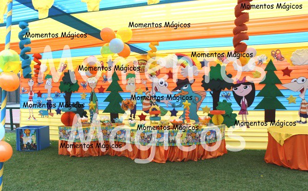 decoracion phineas y ferb momentos magicos 3 | Flickr - Photo Sharing!