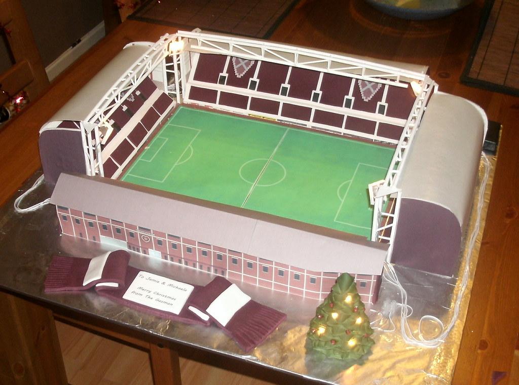 How To Make Stadium Cake