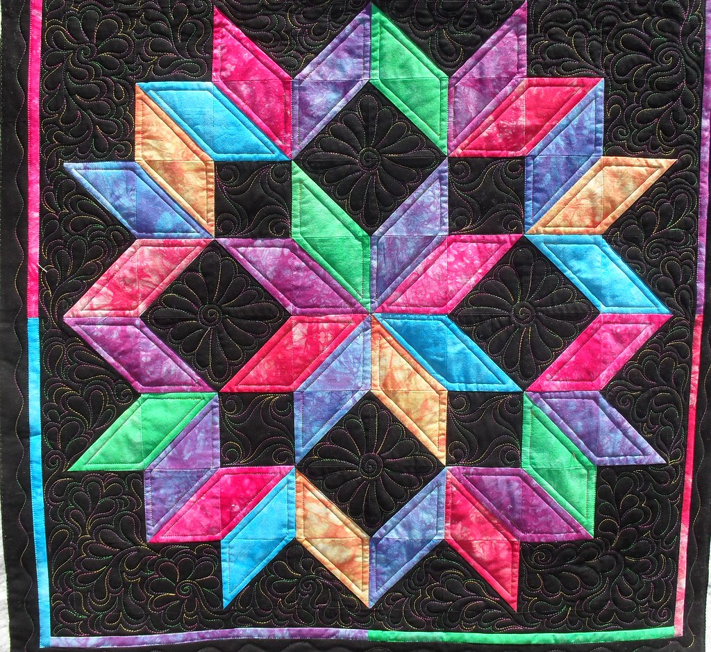 Carpenter S Star Pieced By Judy Opperman Quilted By