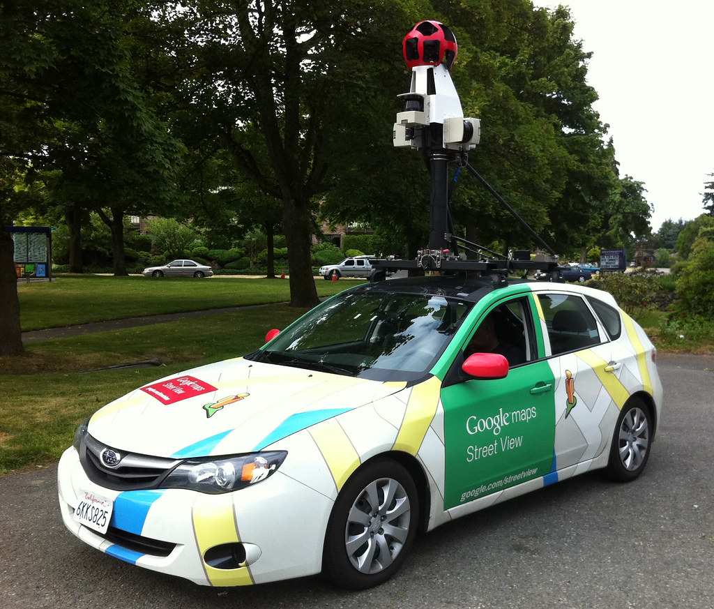 google maps street view car did this driver pull over to l flickr. Black Bedroom Furniture Sets. Home Design Ideas