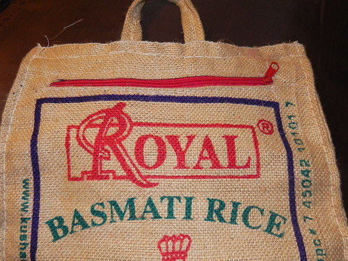 Rice Bag for Compost Tea | by EatandLiveGreen