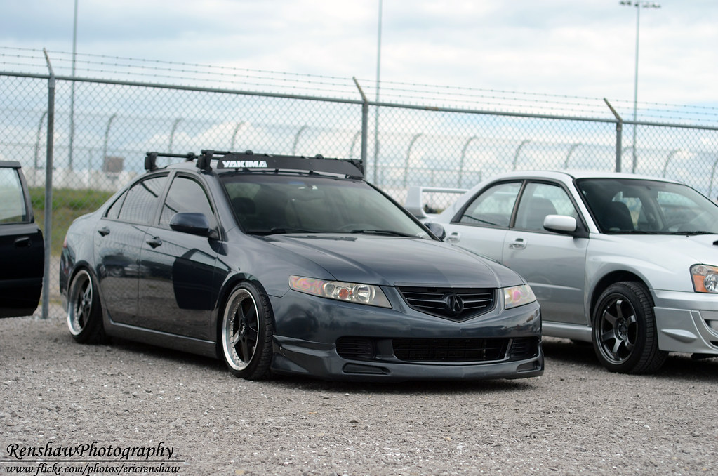 Acura Tl Roof Rack >> Racked Acura | Photo taken @ Nashville Superspeedway during … | Flickr
