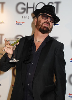 Dave Stewart at the Ghost the Musical Press Night | by ATG Tickets™