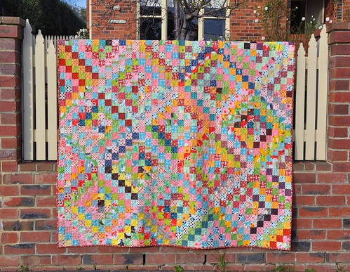 DS Quilt finished - front | by patchandi