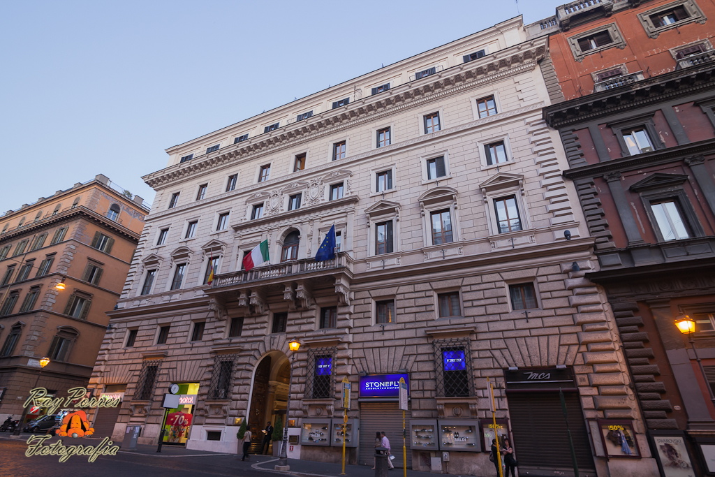 hotel eurostar international palace en via nazionale roma