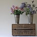 Vintage Wooden Apple Crate,Wedding Bushel Crate