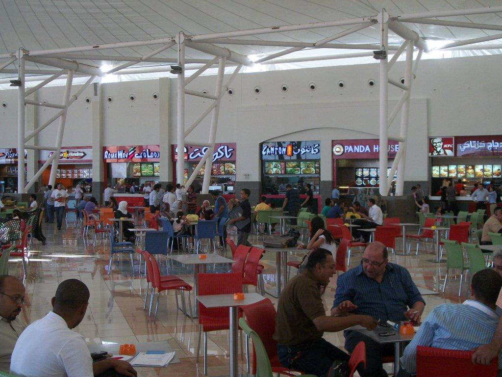 mall of arabia cairo food court mall of arabia flickr. Black Bedroom Furniture Sets. Home Design Ideas