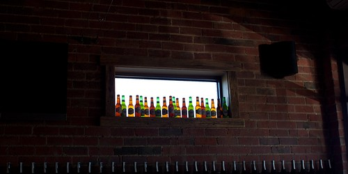 bottles on the windowsill | by tristankenney