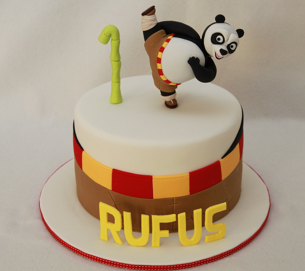 Rufus Kung Fu Panda Cake My First Ever Kung Fu Panda Cake Flickr