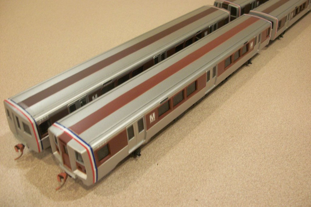 Ho Scale Wmata Washington Dc Metro Rapid Transit Train Car Flickr