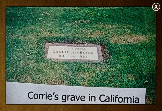 Corrie Ten Boom S Grave Corrie Ten Boom Passed Away On