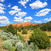 Clouds and Red Canyon