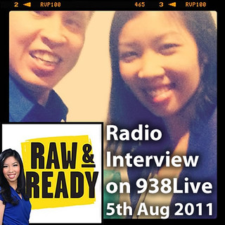 On 938Live's Raw & Ready with Sarah Cheng-De Winne | by inju