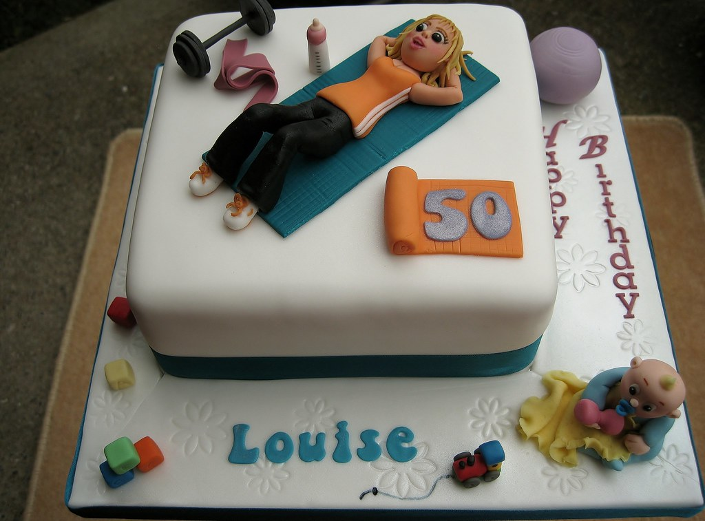 Images Of Gym Cake : Pilates / gym childminder cake Following the 18th messy ...