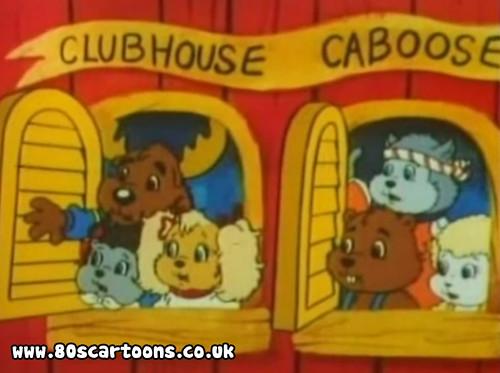 Get along gang cartoon