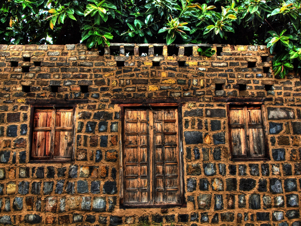 old house preserved in saidpur village  islamabad  pakista